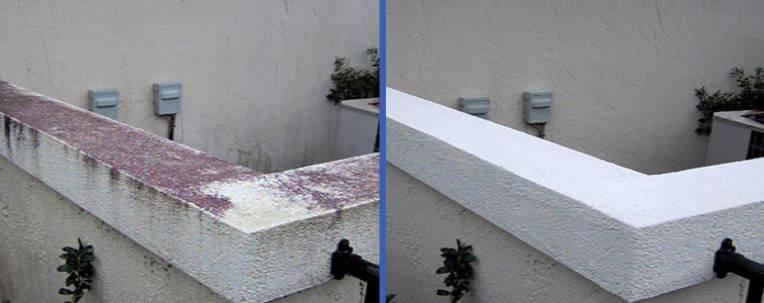 Lavage avant et après